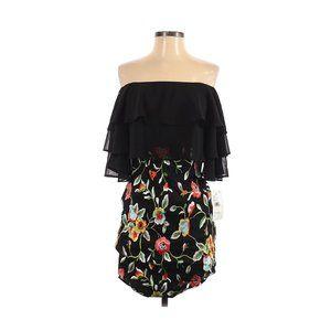 Aidan Mattox Floral Embroidered Dress Size 0 New